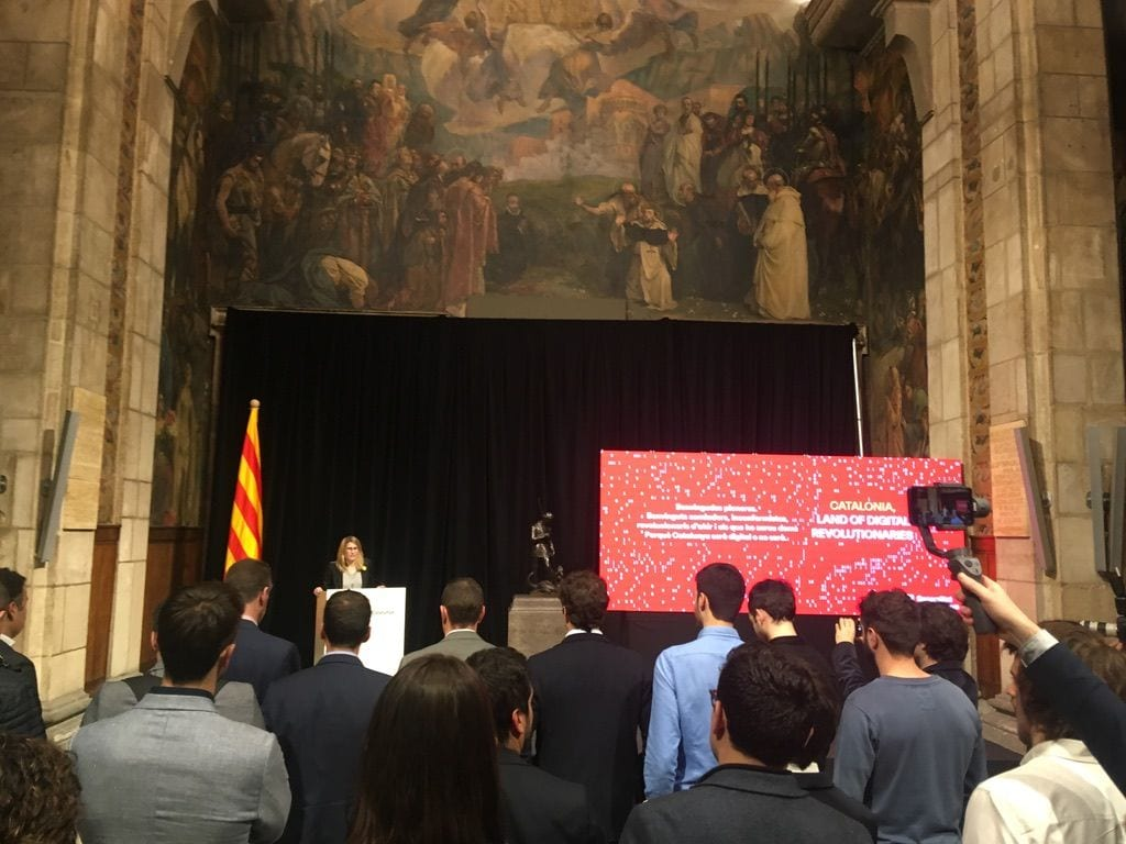 Reception Catalan Ministers