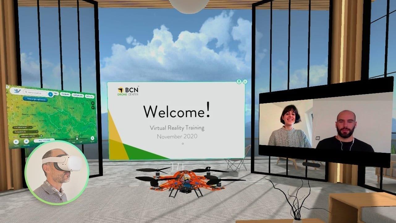 Virtual Reality BCN Drone Center