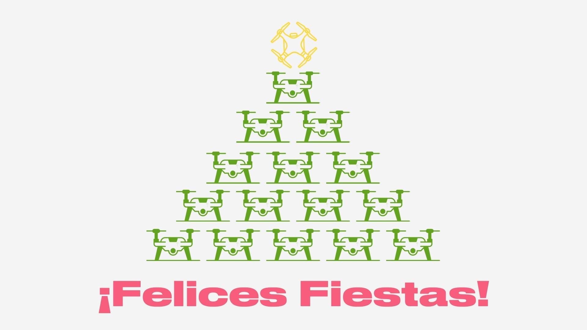 BCN Drone Center Felices Fiestas