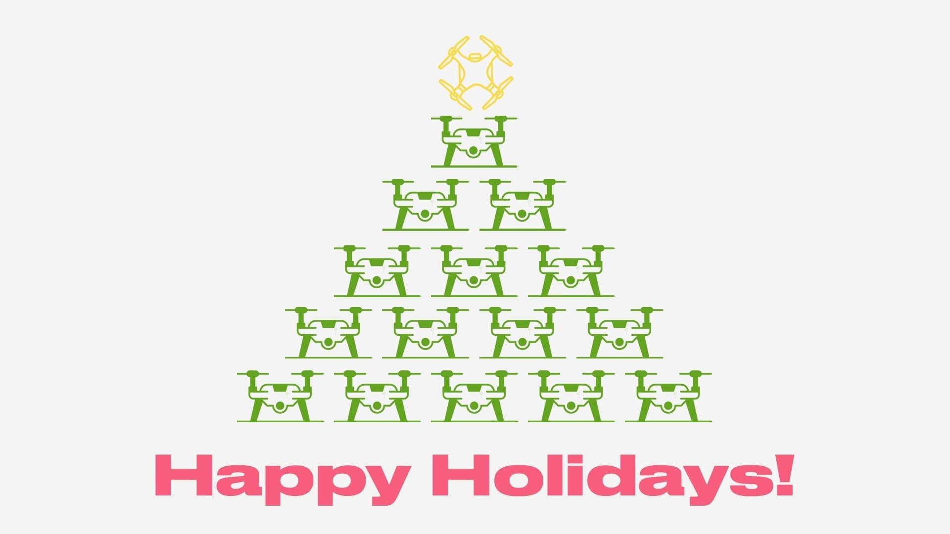 BCN Drone Center happy holidays